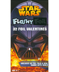 Revenge of the Sith 32 Flashy Foil Valentines
