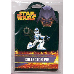 Clone Trooper Pin from the Revenge of the Sith Collection