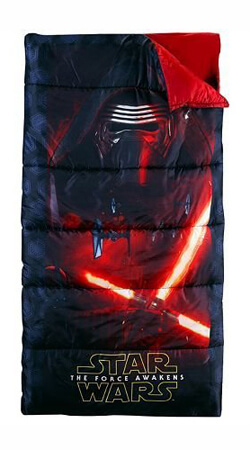 Star Wars The Force Awakens kids camp sleeping bag