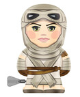 Rey BeBots Wind Up Action Figure