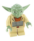 LEGO Star Wars Yoda Figurine Alarm Clock