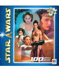 Star Wars Jigsaw Pizzle 100 Pieces Padme and Leia #4 of 4