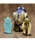 Yoda & R2-D2 Dagobah Pack 1/10 Scale Pre-painted model kit ArtFX