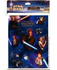 Star Wars Episode 2 - Stickers Autocollants - 4 Sheets