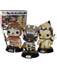 POP Star Wars Ewoks - Teebo, Chief Chirpa & Logray 3-Pack