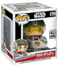 POP Star Wars Wedge Antilles with Snowspeeder Exclusive #219