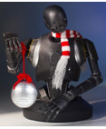 K-2SO Holiday Mini Bust Deluxe Collectible Mini Bust exclusive