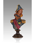 Magnitude an Admiral Ackbar Mini Bust 2013 Convention Exclusive
