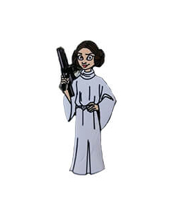 Princess Leia Pin Star Wars Celebration Chicago Exclusive
