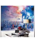 Star Wars Saga Prepasted Chair Rail Wall Mural