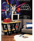 Star Wars Classic Prepasted Chair Rail Wall Mural