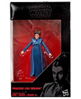 "Princess Leia Organa (blue gown) The Black Series 3.75"" Non-Mint"