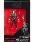 "Sergeant Jyn Erso - The Black Series 3.75"" Rogue One non-mint"