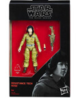 "Resistance Tech Rose Black Series 3.75"" Star Wars"