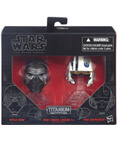 Kylo Ren & Poe Dameron Helmets - The Black Series Titanium #01