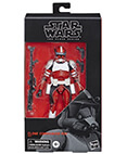 Clone Commander Fox Black Series 6 inch Star Wars (non-mint)
