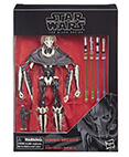 General Grievous #D1 Black Series 6 inch Star Wars ROTS