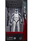 Clone Trooper Lieutenant Phase 1 Black Series 6 inch non-mint