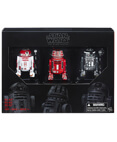 R2-A3, R5-K6 and R2-F2 Black Series 6 inch Action Figures