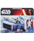 Snowspeeder with First Order Snowtrooper Action Figure