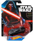 Hot Wheels Star Wars Character Car - Kylo Ren