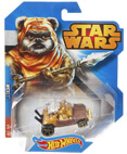 Hot Wheels Star Wars Character Car - Wicket (Ewok)