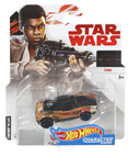 Hot Wheels Star Wars Character Car - Finn
