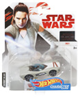 Hot Wheels Star Wars Character Car - Rey