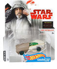 Hot Wheels Star Wars Character Car - Luke Skywalker - Last Jedi