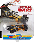 Hot Wheels Star Wars CarShips Poe's X-Wing Fighter