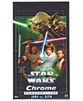 2015 Topps Star Wars Chrome Perspectives hobby box Sealed Yoda