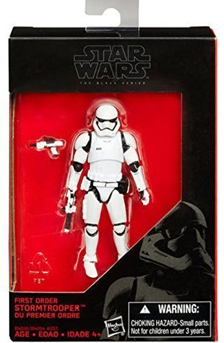 "First Order Stormtrooper - The Black Series 3.75"" - Click Image to Close"