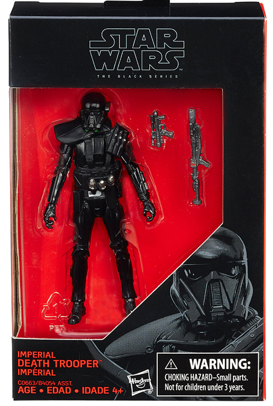 "Imperial Death Trooper - The Black Series 3.75"" - Click Image to Close"