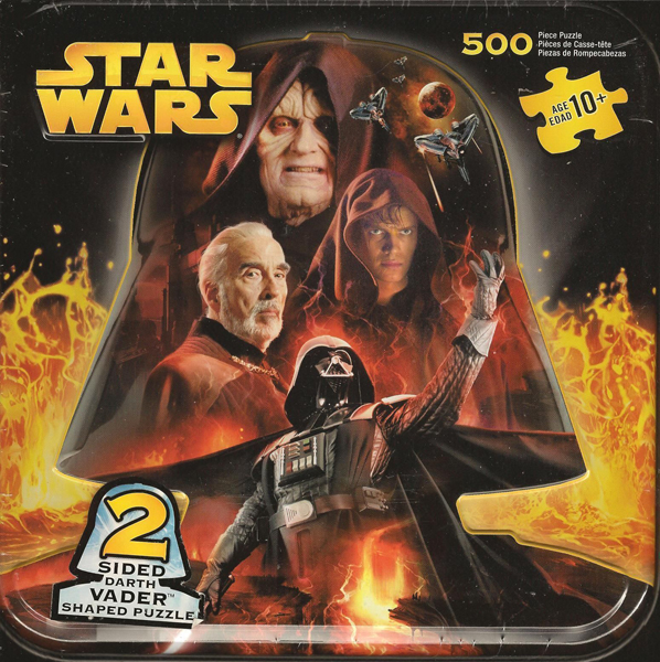 Revenge Of The Sith 500 Puzzle Collector S Tin 2 Sided Tx6721 24 99 K C Collectibles Your Source In The Galaxy For Star Wars Collectibles Since 1995