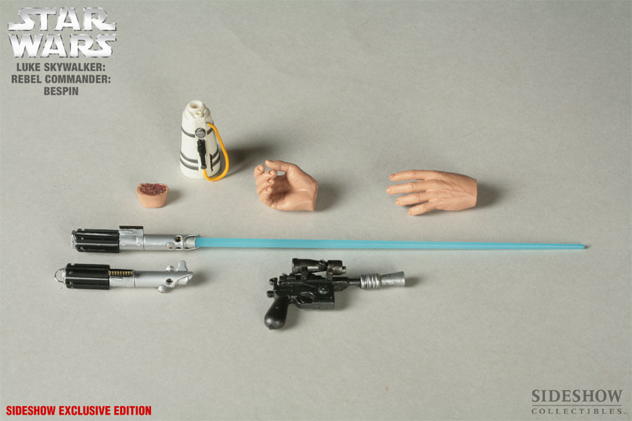 Luke Skywalker Bespin 12 inch Action Figure Sideshow Exclusive - Click Image to Close