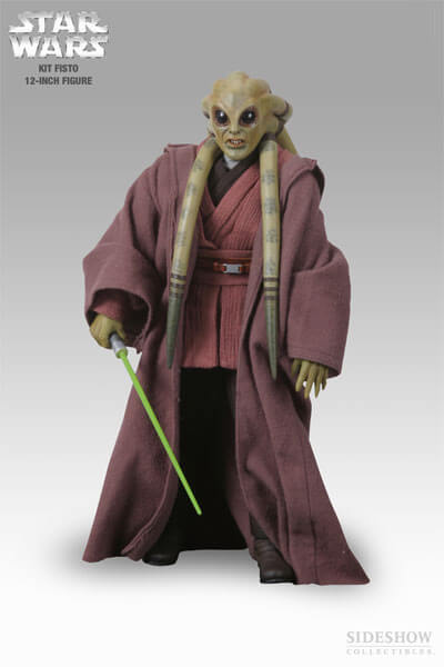 Kit Fisto 12 inch Action Figure Sideshow Exclusive - Click Image to Close