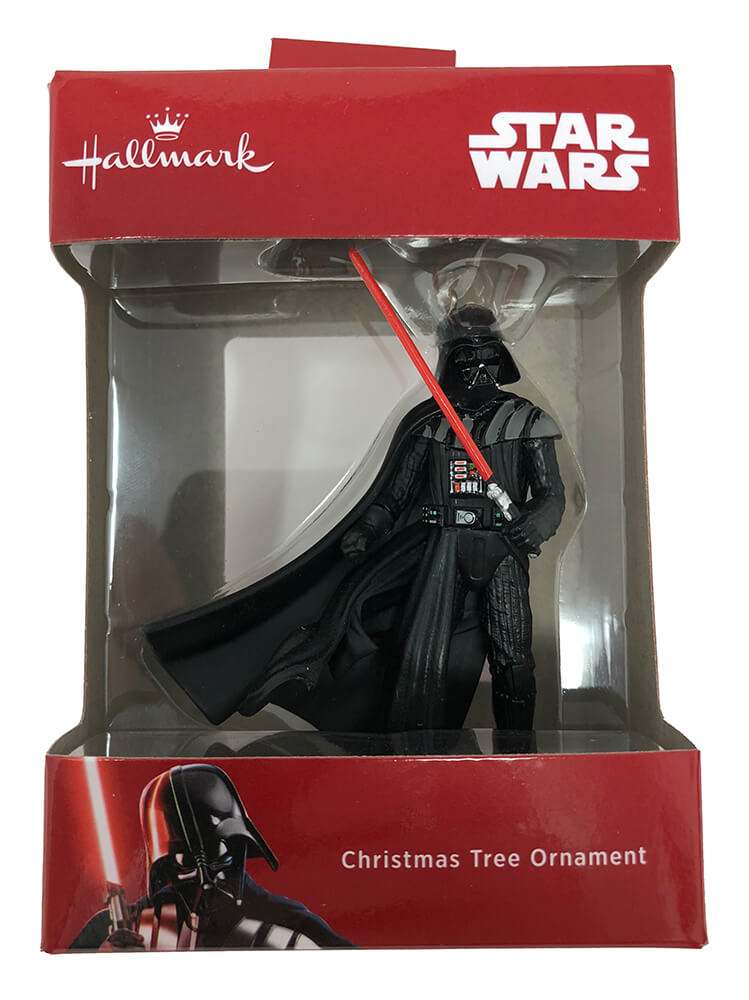 Hallmark: Darth Vader Christmas Tree Ornament 2018 - Click Image to Close