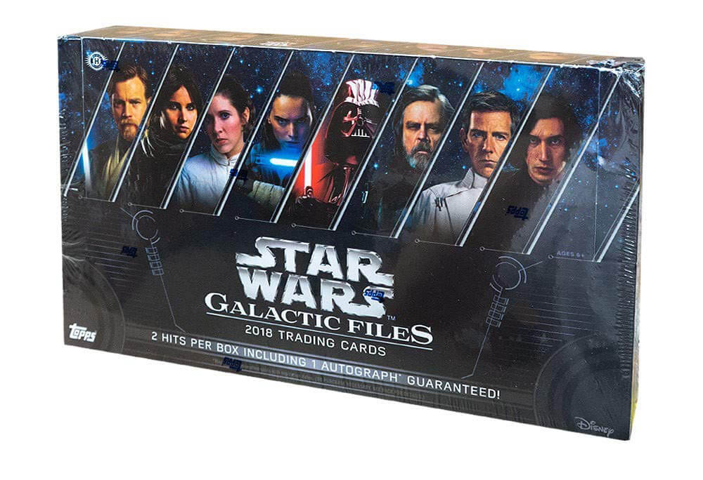 Topps Star Wars Galactic Files 2018 Sealed Hobby Box - Click Image to Close