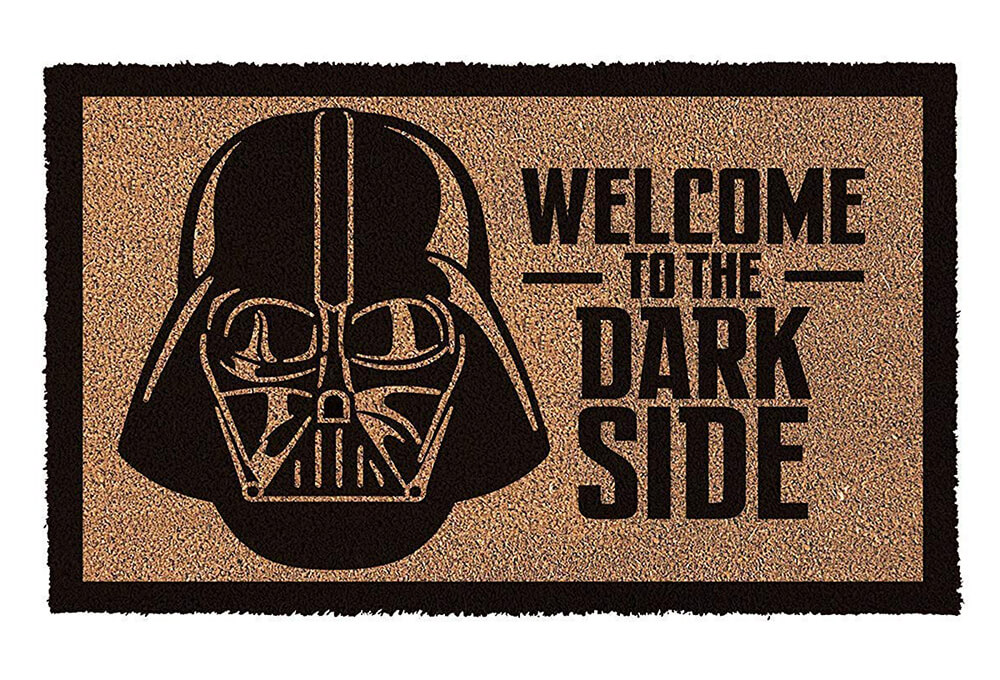 Darth Vader Welcome to the Dark Side Doormat (17 x 29 inches) - Click Image to Close