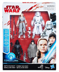 Battle on Crait 4-Pack of Action Figures - The Last Jedi