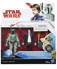 Han Solo and Boba Fett Deluxe 2-Pack - non-mint