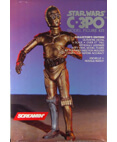 "Screamin' C-3PO Model Figure Kit 18"" tall 1/4 Scale"