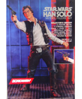 "Screamin' Han Solo Model Figure Kit 17"" tall 1/4 Scale"
