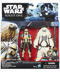Moroff and Scarif Stormtrooper Squad Leader Deluxe (non-mint)