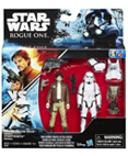 Captain Cassian Andor and Stormtrooper Deluxe 2-pack TRU