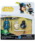 Rose (First Order Disguise) BB-8 and BB-9E Deluxe 2-Pack