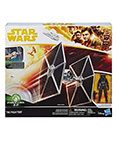 TIE Fighter with Pilot Action Figure Force Link 2.0