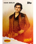 Han Solo A Star Wars Story Card Denny's Topps
