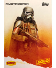 Mudtrooper A Star Wars Story Card Denny's Topps