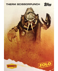 Therm Scissorpunch A Star Wars Story Card Denny's Topps